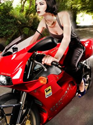 Ducati Luxury Classic Motorbike Fashion