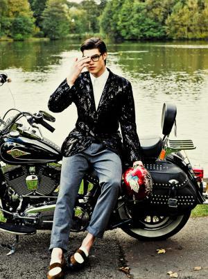 Harley Davidson Fashion Photography