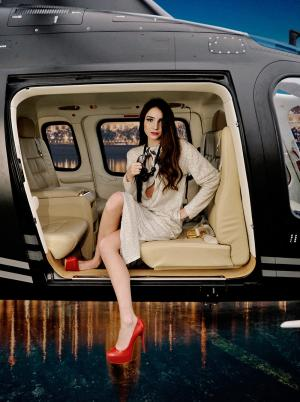 Agusta Helicopter Lady