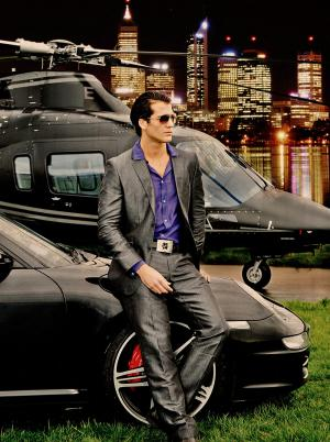 Gentlemen Prefer Agusta and Porsche 911 Fashion Photography