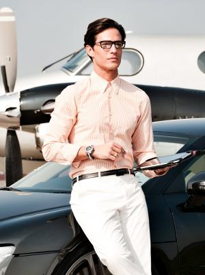 Geek Chic Jet Fashion Photography