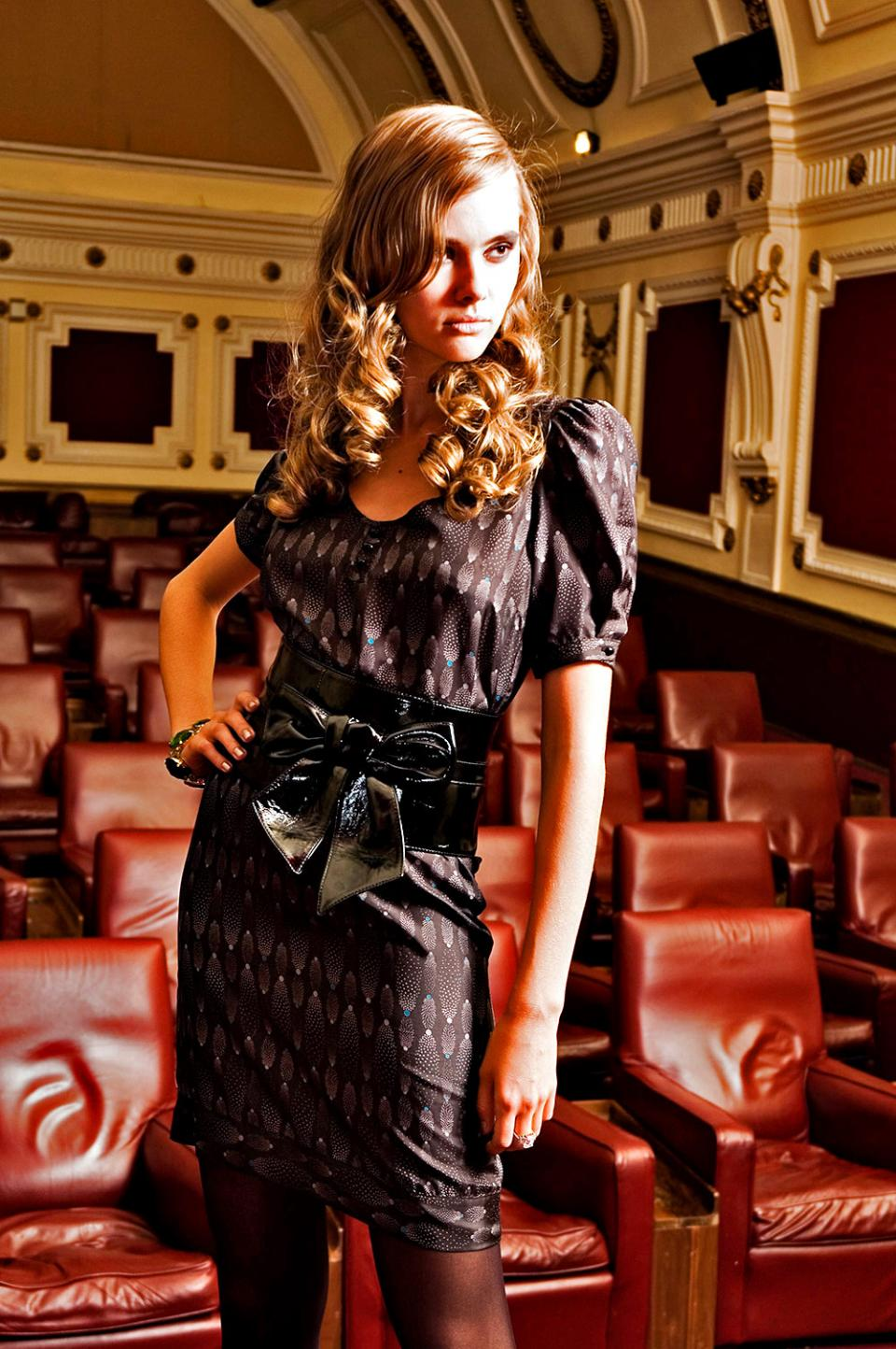 In The Spotlight Nottinghill Gate Cinema Fashion Photography