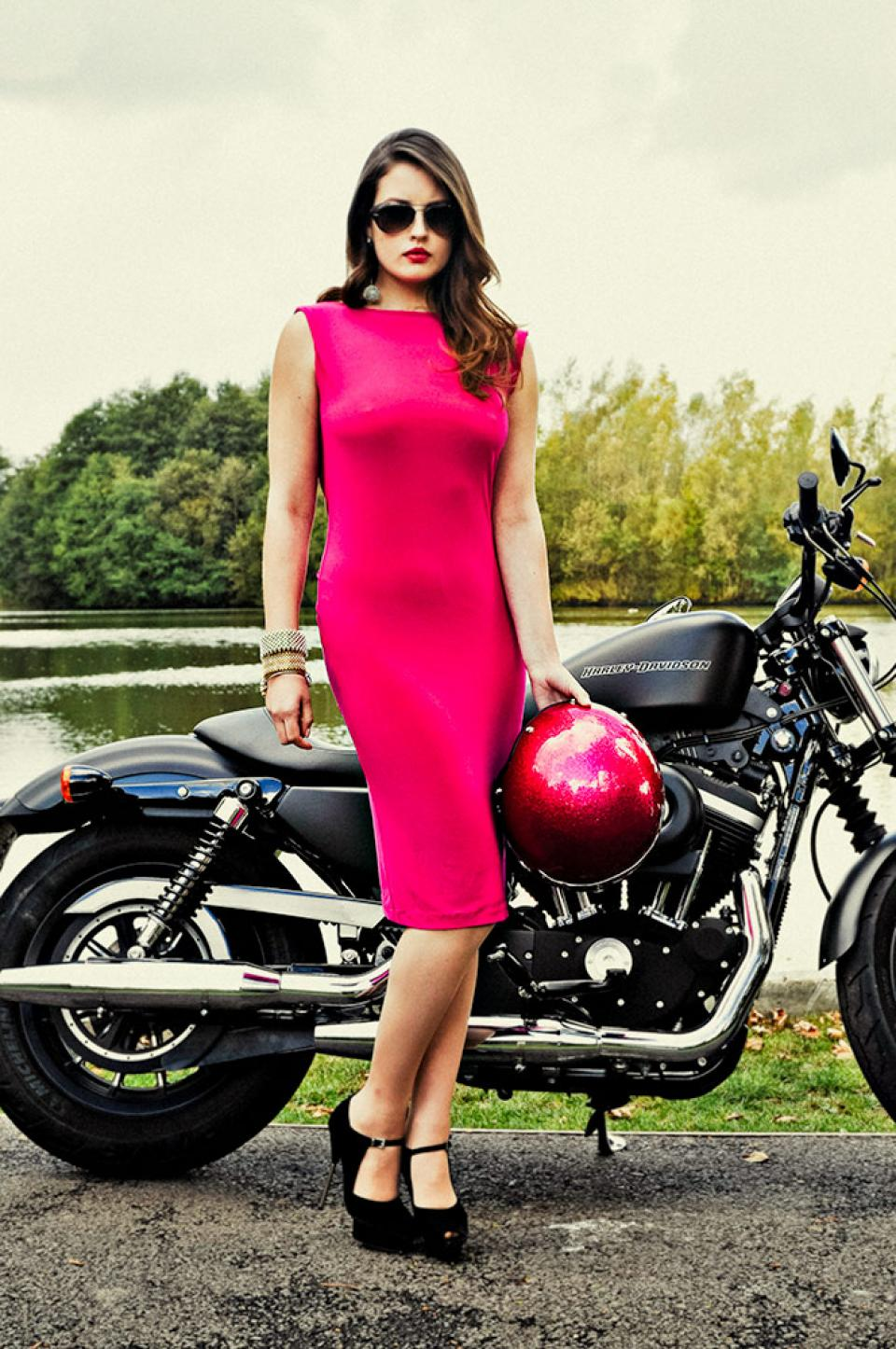 Harley Davidson Fashion Photography