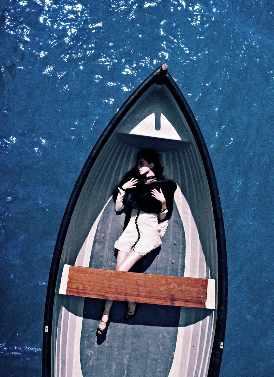 Fashion Photography Boats