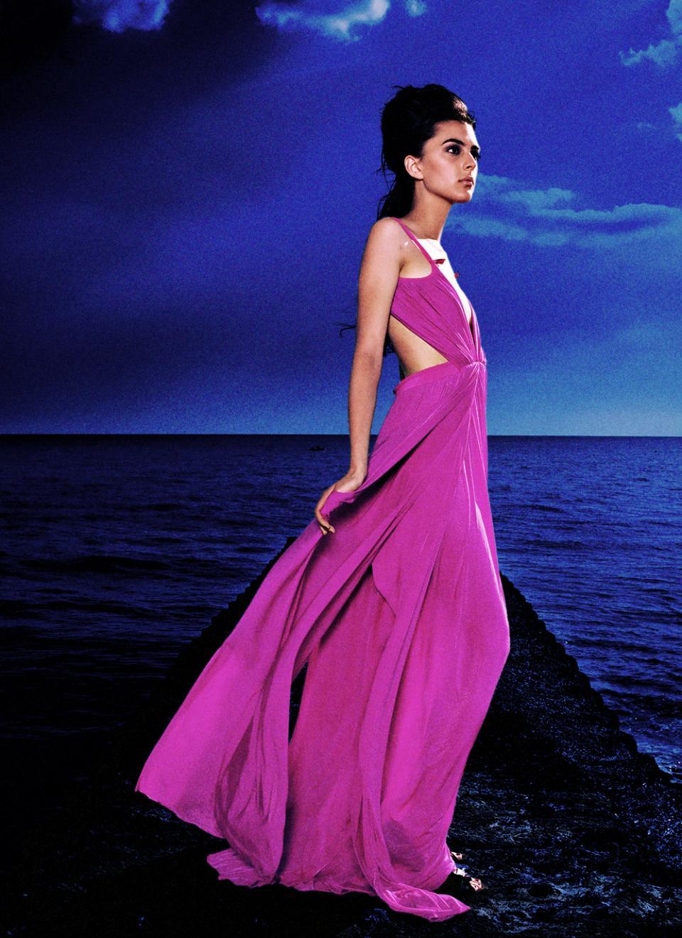 Fashion Photography Sea Coast Night